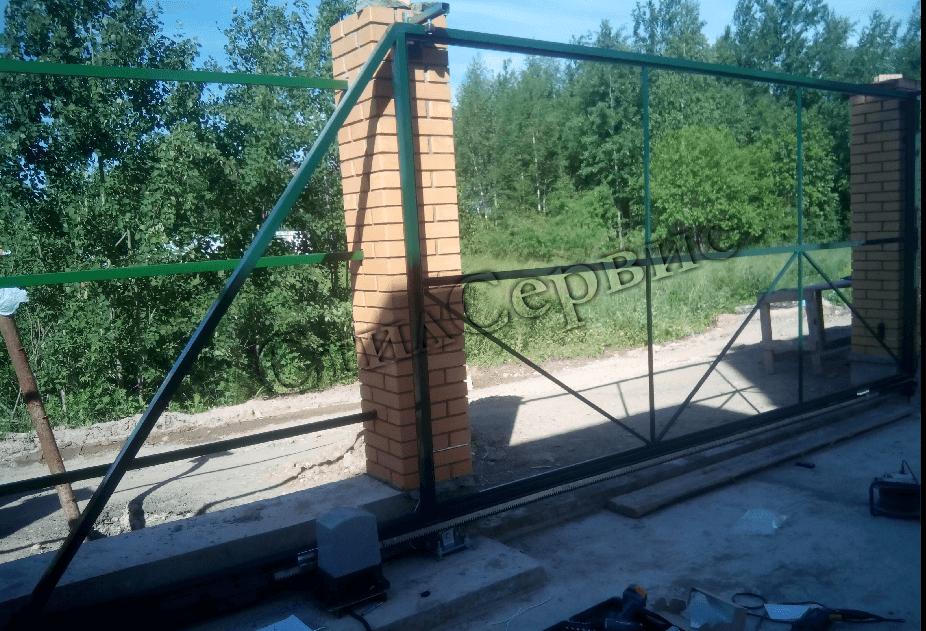 Автоматические ворота Дорхан, дилер Doorhan в Москве и