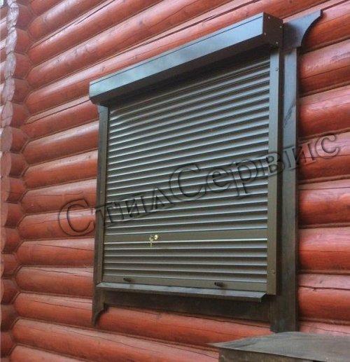 Рольставни на окна в Москве Защитные наружные рольставни